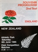 New Zealand Rugby Programmes - International