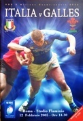 Italy Rugby Programmes - International