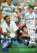 Rugby World Cup 1987 Programmes