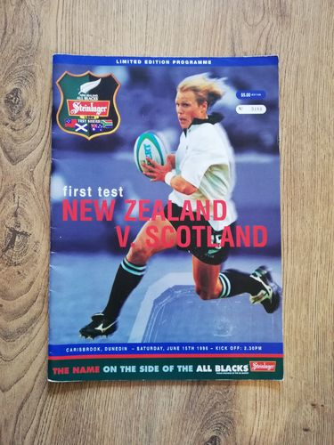 New Zealand v Scotland 1st Test 1996