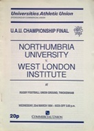 Rugby Union Cup Final Programmes - Others