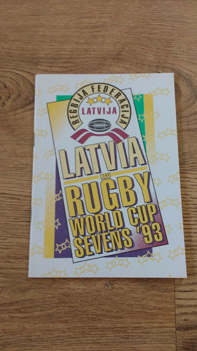 Latvia in Rugby World Cup Sevens 1993 Brochure