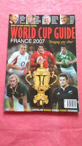 Rugby Matters 'World Cup Guide France 2007'