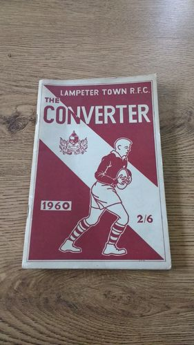 ' The Converter ' Lampeter Town RFC 1960 Rugby Union Annual Brochure