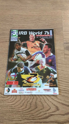 World Sevens Series South Africa 2000 Durban Rugby Programme