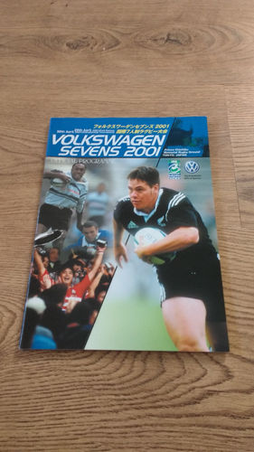 World Sevens Series Japan 2001 Rugby Programme