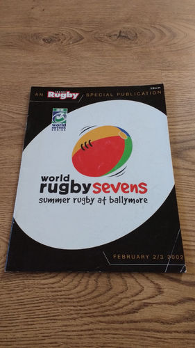 World Sevens Series Brisbane 2002 Rugby Programme