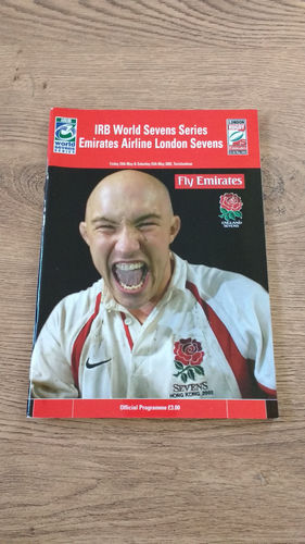 World Sevens Series London 2002 Rugby Programme