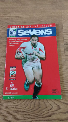 World Sevens Series London 2008 Day 2 Update Rugby Programme