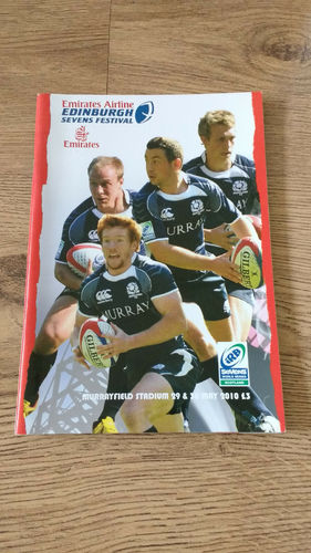 World Sevens Series Scotland 2010 Rugby Programme