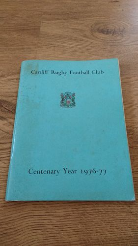Cardiff Rugby Football Club 1976-77 Centenary Brochure