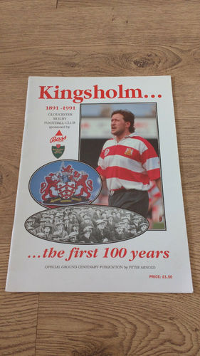 'Kingsholm... the first 100 years' 1991 Gloucester Rugby Centenary Brochure