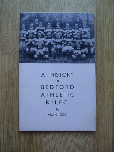 A History of Bedford Athletic Rugby Football Club Brochure 1970