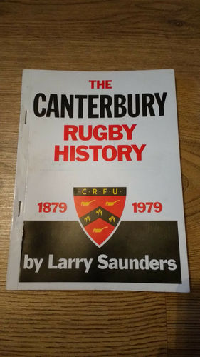 Canterbury (New Zealand) 1979 Centenary Rugby Brochure