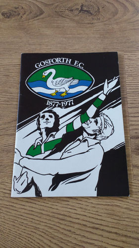 Gosforth Rugby Football Club Centenary Brochure 1977