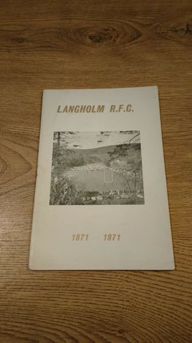 Langholm Rugby Football Club 1871 - 1971 Centenary Brochure