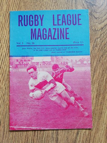 'Rugby League Magazine' Volume 3 Number 26 February 1968