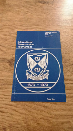 SRU International Seven-a-Side Tournament 1973