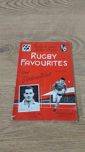'Rugby Favourites & Personalities' Magazine 1949 Book 2