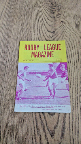 'Rugby League Magazine' Vol 3 No 35 : December 1969