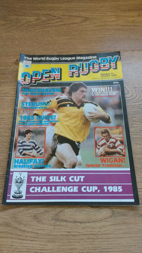 'Open Rugby' Magazine No 71 : January 1985