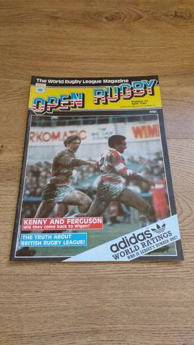 'Open Rugby' Magazine No 74 : April 1985