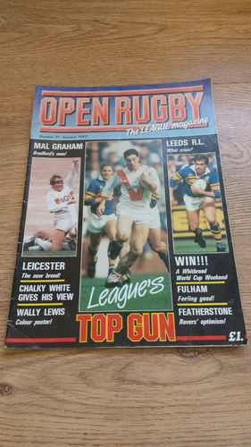 'Open Rugby' Magazine No 91 : January 1987