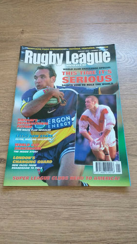 'Rugby League World' Magazine : January 2001