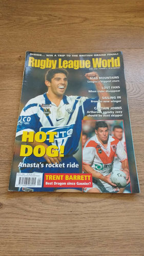 'Rugby League World' Magazine : April 2002