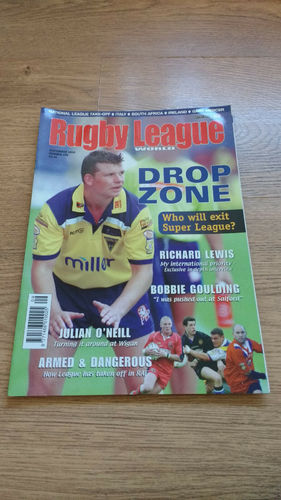 'Rugby League World' Magazine : September 2002