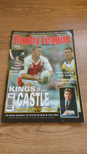'Rugby League World' Magazine : March 2003