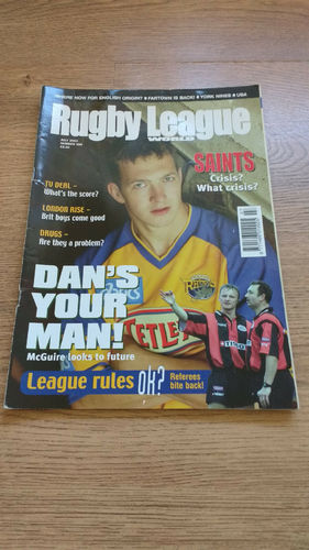 'Rugby League World' Magazine : July 2003