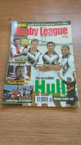'Rugby League World' Magazine : August 2003