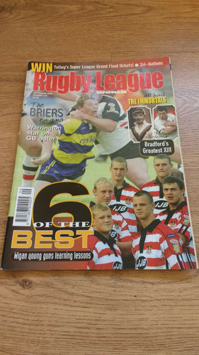 'Rugby League World' Magazine : September 2003