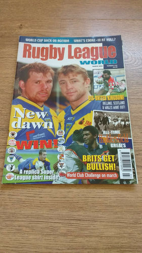 'Rugby League World' Magazine : March 2004