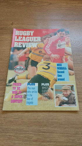 'Rugby League Review' Magazine : January 1989
