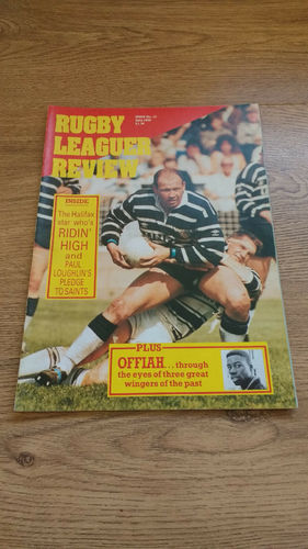 'Rugby League Review' Magazine : July 1989
