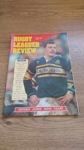 'Rugby League Review' Magazine : January 1990