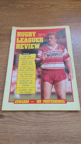 'Rugby League Review Magazine' : February 1990