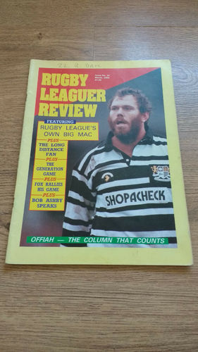 'Rugby League Review' Magazine : March 1990