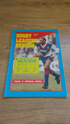 'Rugby League Review' Magazine : July 1990