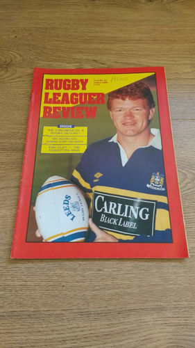 'Rugby League Review Magazine' : August 1990