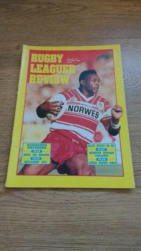 'Rugby League Review' Magazine : November 1990