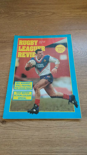 'Rugby League Review' Magazine : March 1991