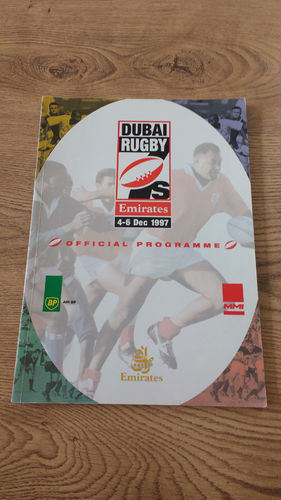 Dubai Sevens 1997 Rugby Programme