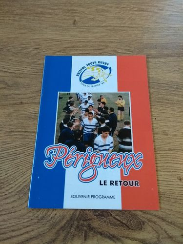 Bristol Youth Rugby Tour of France 1999 Brochure