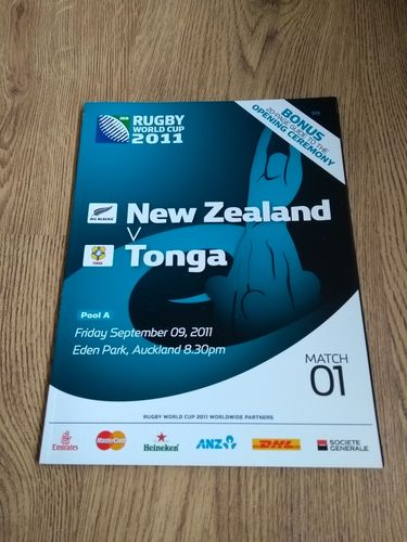 New Zealand v Tonga 2011