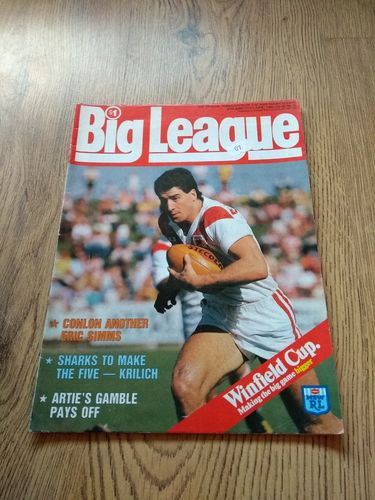 'Big League' Volume 66 Number 15 : June 1985 NSW Rugby League Magazine