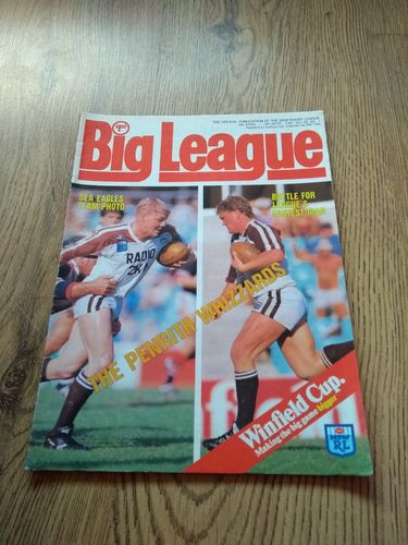 'Big League' Volume 68 Number 7 : April 1987 NSW Rugby League Magazine