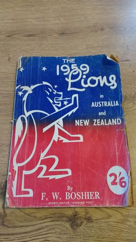 ' The 1959 Lions in Australia & New Zealand ' British Lions Post Tour Brochure